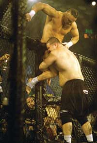 Cagefight survival of the fittest!